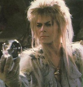 Bowie as goblin king